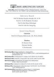 Buletin Arbitrase Nasional Indonesia Nomor 10/2010 - Badan ...