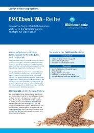 EMCEbest WA-Reihe - Mühlenchemie GmbH & Co. KG