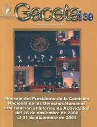 Gaceta N° 139 - Comisión Nacional de los Derechos Humanos