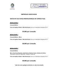 34,00€ por consulta 38,00€ por consulta 49,00€ por ... - VectWeb SM