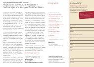 Anmeldung: Programm: Holzbau für kommunale Aufgaben – nachhaltiges ...