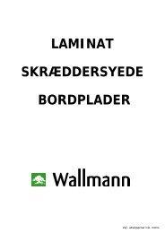 LAMINAT SKRÆDDERSYEDE BORDPLADER