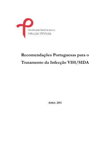 Recomendações Portuguesas para o Tratamento da ... - VectWeb SM