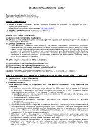 Pobierz ogłoszenie (PDF 45 kB) - Dolnośląski Ośrodek Doradztwa ...