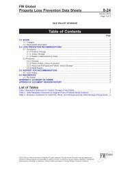 DS 8-24 Idle Pallet Storage (Data Sheet) - FM Global