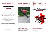Artistic Martial Arts Workshop - Eimsbütteler Turnverband