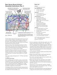 Bare Bones Board Arduino Assembly Instructions, Rev ... - Wulfden.org
