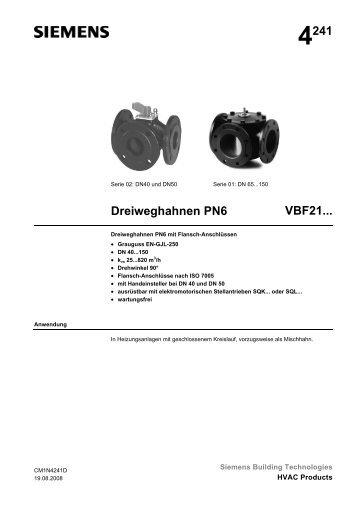 4241 Dreiweghahnen PN6 VBF21... - Walter Meier