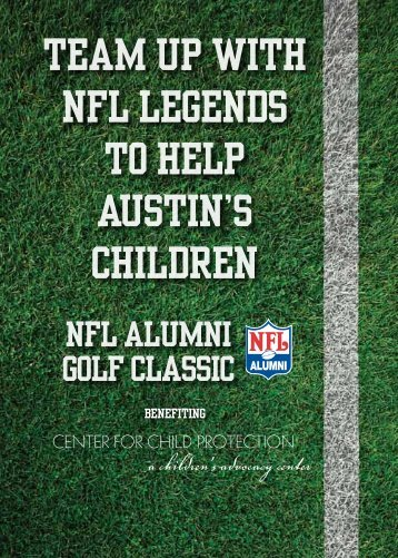 Team up with NFL Legends to help Austin's Children - Center For ...