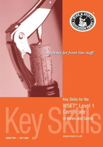 Level 1 Key Skills