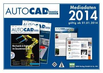 Mediadaten 2014 - AUTOCAD Magazin