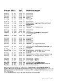 Gottesdienst-Plan 2011 - Kirchenkreis Liebefeld - Page 2