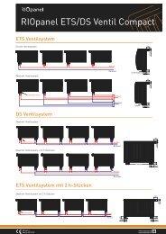 RIOpanel ETS/DS Ventil Compact