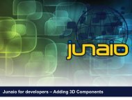Junaio for developers – Adding 3D Components