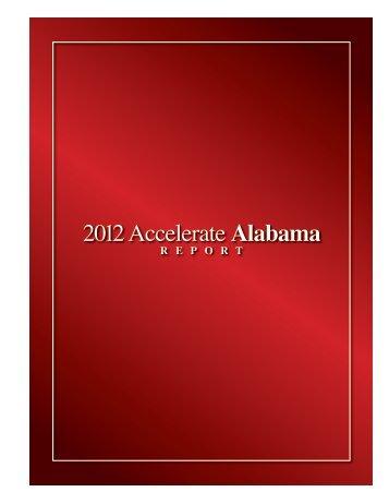 2012 Accelerate Alabama Report - Economic Development ...