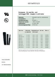 Krympeflex - WebKontrol V.5   Bakuri A/S