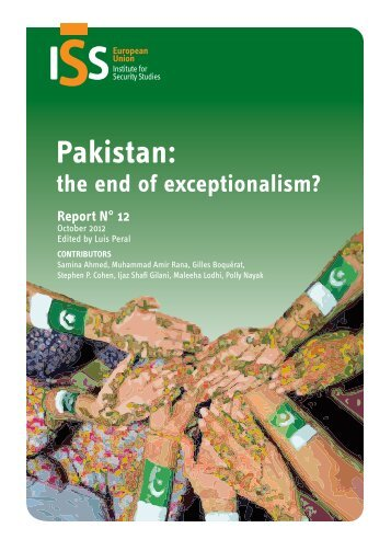 Pakistan: The End of Exceptionalism? - European Union Institute for ...