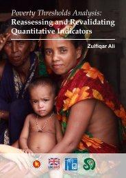 Poverty Thresholds Analysis: Reassessing and ... - Shiree