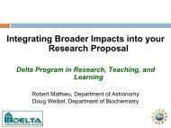 Extracellular Matrix Proteins Regulate the in vitro ... - Delta Program