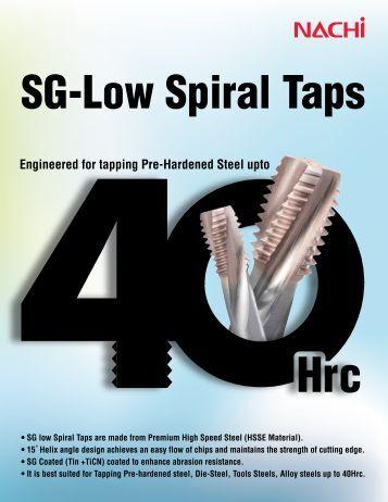 SG-Low Spiral Taps - Nachi America