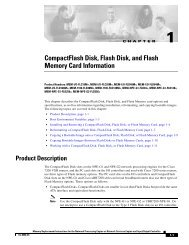 CompactFlash Disk, Flash Disk, and Flash Memory Card ... - Hardware
