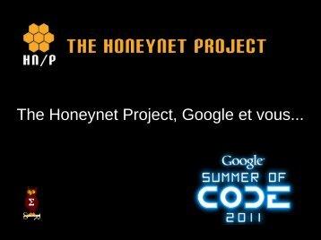 The Honeynet Project, Google et vous... - OSSIR