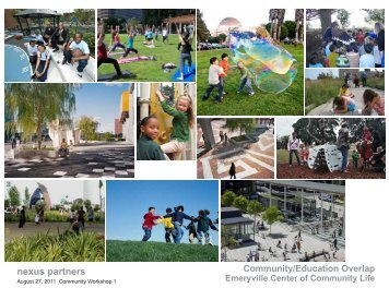 nexus partners - Emeryville Center of Community Life