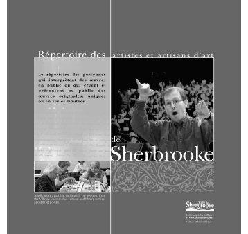 Formulaire français - Ville de Sherbrooke