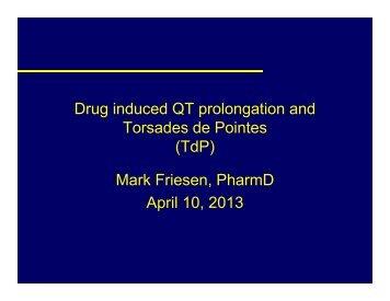 Managing QT drug interactions - CBMTG