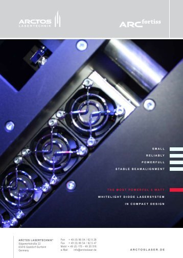 Flash Fortiss.pdf - Laser System Europe