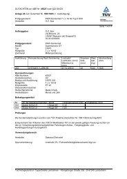GUTACHTEN zur ABE Nr. 45527 nach §22 StVZO Anlage 29 zum ...