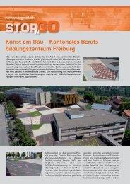 Kunst am Bau – Kantonales Berufs- bildungszentrum ... - Signal AG