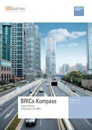 BRICs-Kompass - Goldman Sachs