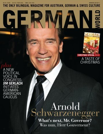 Arnold Schwarzenegger - GERMAN WORLD MAGAZINE