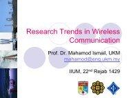 25 July - International Islamic University Malaysia, Staff Webhosting