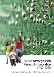 National Strategic Plan for Research and Innovation - Europa