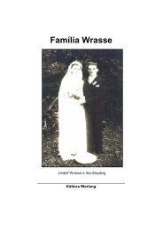 Família Wrasse - Editora Werlang