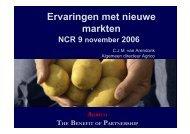 Ervaringen met nieuwe markten (PDF 1.71 Mb)
