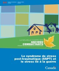Le syndrome de stress post-traumatique (SSPT) - Anciens ...