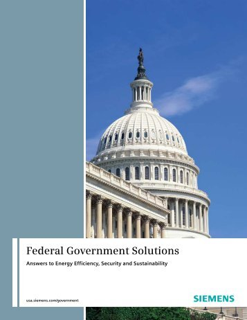 Federal Government Solutions - Siemens Industry, Inc.