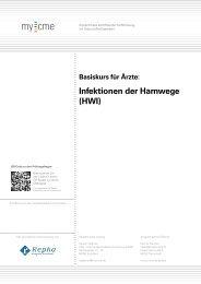 Infektionen der Harnwege (HWI)