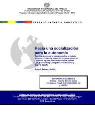 Hacia una socialización para la autonomía Consideraciones y ...
