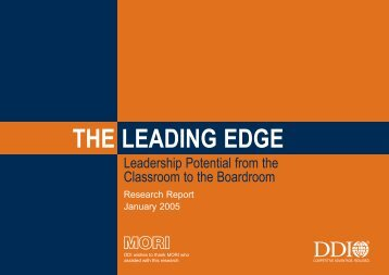 The Leading Edge - DDI