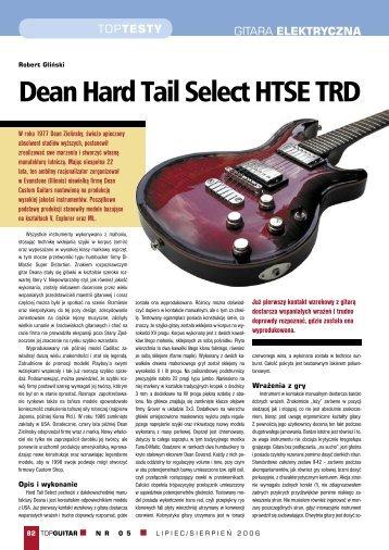 Dean Hard Tail Select HTSE TRD - FX-Music Group