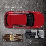 Model Car Selection