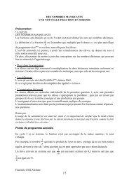 Fractions CM2-Sixième 1/3 DES NOMBRES MANQUANTS UNE ...