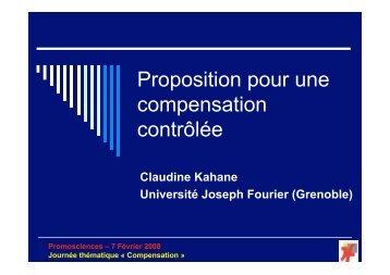 Contribution Grenoble I