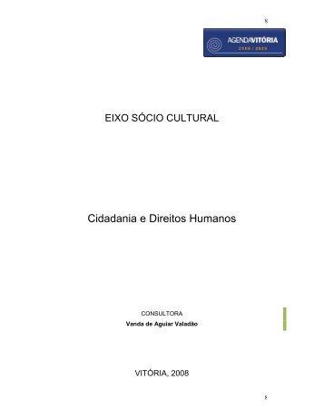 Cidadania e Direitos Humanos - Prefeitura de Vitória