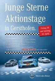 und Samstag, 09. April! - Mercedes-Benz Niederlassung Augsburg