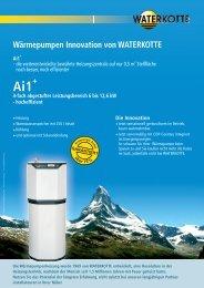 Wärmepumpen Innovation von WATERKOTTE - bei Green Terra